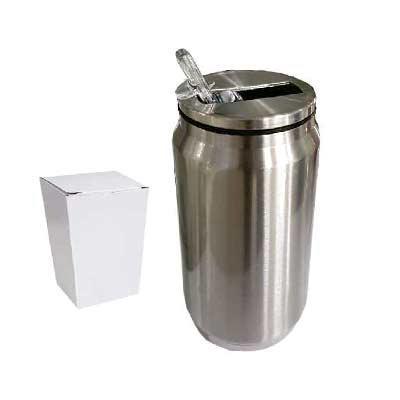 ArtPromo - Cantil de metal 300 ml