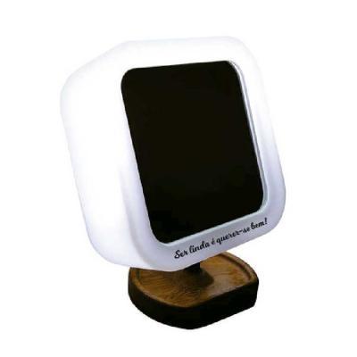 artpromo - Box Espelho Luminária Natural