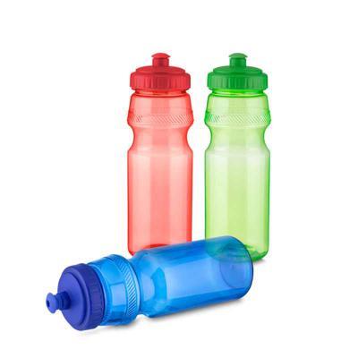 ArtPromo - Garrafa tipo Squeeze em plástico com tampa rosqueada, bico com trava. Capacidade: 750 ml.
