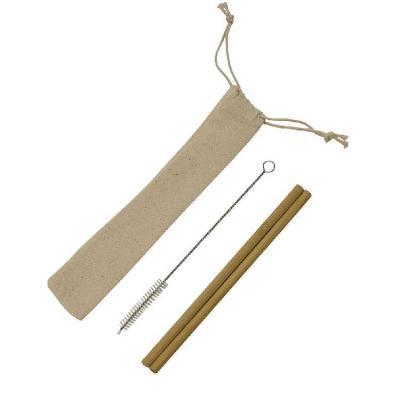 artpromo - Kit 2 canudos de bambu