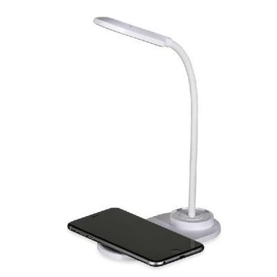 ArtPromo - Luminária LED de mesa articulável e superfície para carregar dispositivos por indução