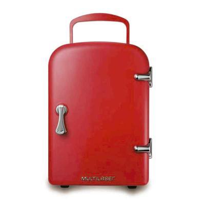 ArtPromo - Super descolada e funcional, a geladeira retrô da Multilaser é perfeita para seu escritório ou residência e, além de linda, é decorativa e mantém os a...