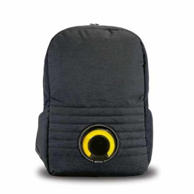 ArtPromo - Mochila para notebook com alto-falante de 3W destacável com LED. Bateria recarregável
