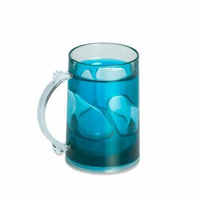 Personalite Brindes - Caneca acrílica brilhante de 200ml com gel térmico