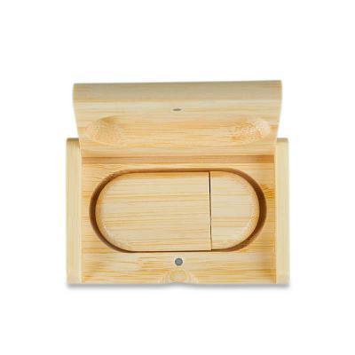 Personalite Brindes - Kit pen drive em bambu