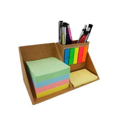 Genialle Brindes & Personalizados - Bloco de anotação ecológico com sticky notes em formato de cubo