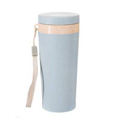 Genialle Brindes & Personalizados - Copo Térmico Fibra de Bambu de 350ml