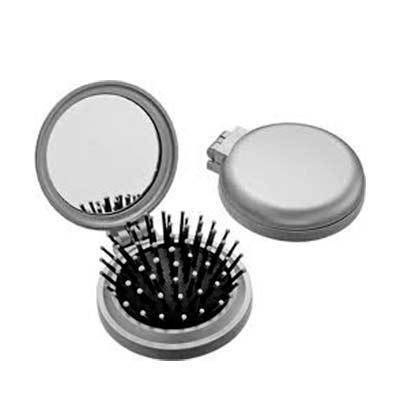 Genialle Brindes & Personalizados - Escova de Cabelo com Espelho