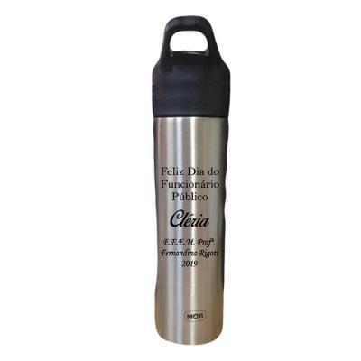 Genialle Brindes & Personalizados - Garrafa de Aço Inox