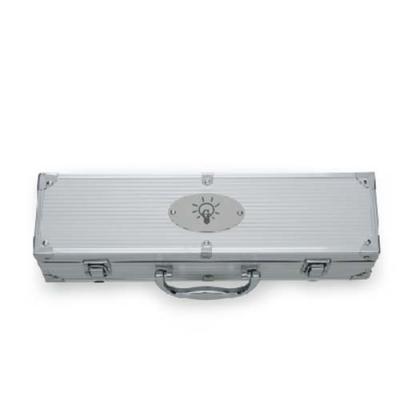 Genialle Brindes & Personalizados - Kit Churrasco 5 peças em maleta de alumínio