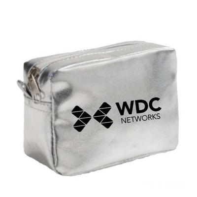 Genialle Brindes & Personalizados - Necessaire metalizada em PVC