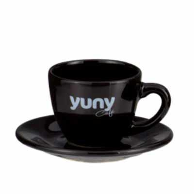 Genialle Brindes & Personalizados - Conjunto café xícara e pires tradicionais.