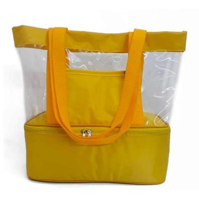 Dandais Bolsas Promocionais - Sacola de praia com compartimento térmico