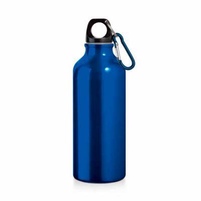 Ezzi Personalizados - Squeeze de alumínio Com mosquetão Personalizado  Capacidade 500 ml. Medida: 66x210mm