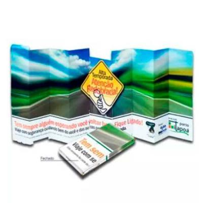 Hakuna Matata Brindes - Tapa Sol Personalizado para Caminhões