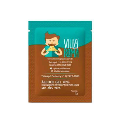 Hakuna Matata Brindes - Sachê de Álcool em Gel Personalizado