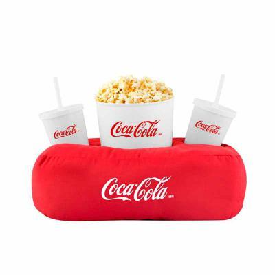 WXZ BRINDES FABRICAÇÃO  PRÓPRIA - Material: oxford com enchimento em fibra siliconada ou PET, balde e copos em plástico. Cores almofada: Variadas. Cores balde e copos: Amarelo, azul, b...