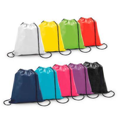 WXZ BRINDES - Mochila saco  Material nylon Gravação: silk