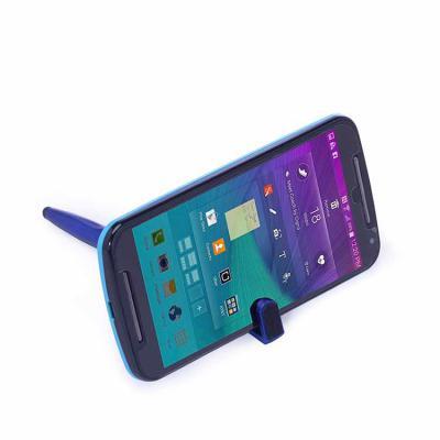 WXZ BRINDES FABRICAÇÃO  PRÓPRIA - Caneta Plástica Touch com Suporte para celular