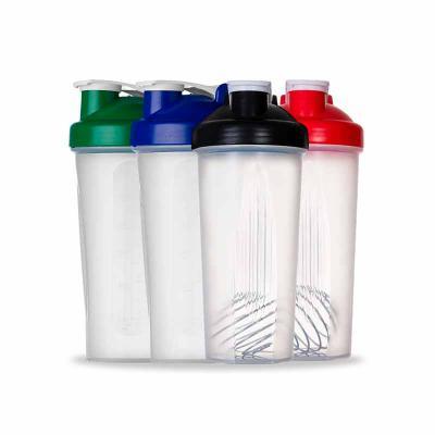 WXZ BRINDES - Coqueteleira Shake 600ml Descrição: Coqueteleira 600ml plástica para Shake. Possui medidas em ml e oz, detalhes em relevo nas laterais e mola para mis...