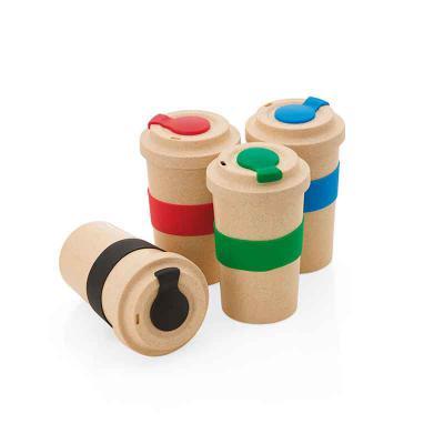 WXZ BRINDES FABRICAÇÃO  PRÓPRIA - Copo em fibra de bambu Personalizado
