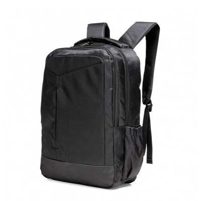 WXZ BRINDES - Mochila de nylon com compartimento para notebook. Compartimento grande com bolso interno para notebook (15.6 polegadas) e dois bolsos de malha, compar...
