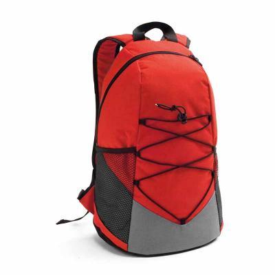 WXZ BRINDES - Mochila. 600D. Bolsos laterais em tela e bolso interior. Parte posterior e alças almofadadas. 250 x 420 x 180 mm