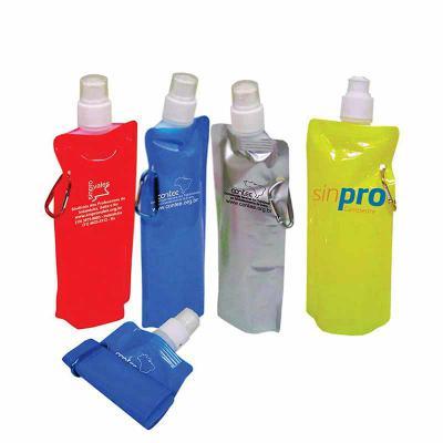 WXZ BRINDES FABRICAÇÃO  PRÓPRIA - Squeeze Plástico  500 ml Gravação: Silk Caso queira uma amostra virtual envie sua logo