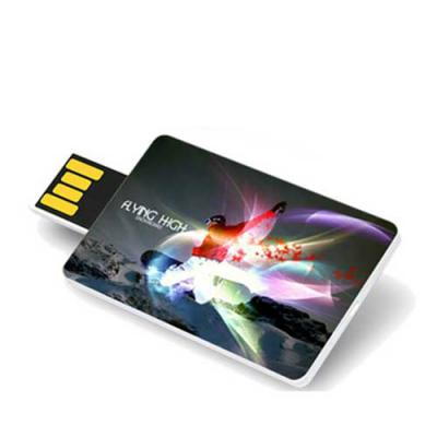 WXZ BRINDES - Pen Drive Card Retrátil Personalizado