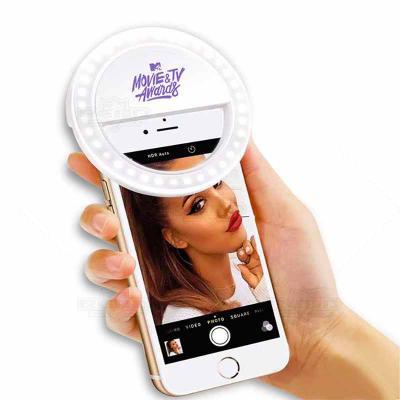 WXZ BRINDES - O Selfie Light Ring é muito utilizado para dar a mais perfeita luz em suas selfies, vídeos e gravações. São 3 estágios de iluminação que garantem a ma...
