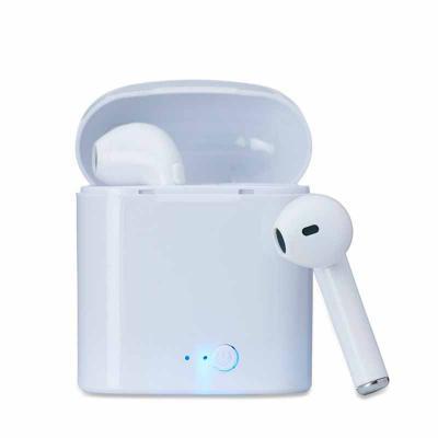 WXZ BRINDES FABRICAÇÃO  PRÓPRIA - Fone bluetooth plástico com case carregador. Para utilização do produto, pressione e segure o botão lateral de ambos fones ao mesmo tempo, luzes led e...