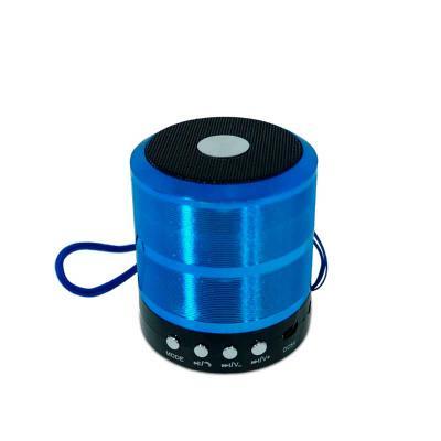 P&J Brindes - Caixa de Som Bluetooth Colorida