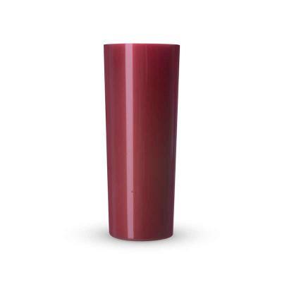 P&J Brindes - Copo long drink 330ml, material plástico com pintura perolada.