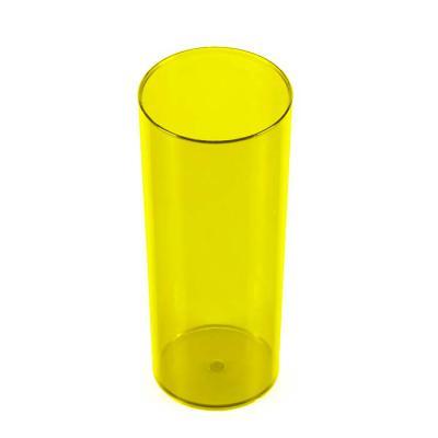 P&J Brindes - Copo Long Drink 330ml Translúcido