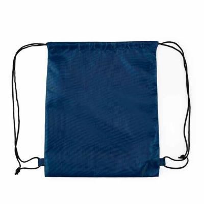P&J Brindes - Descrição: Mochila saco inteira colorida, com duas alças para costa, fechamento superior material em nylon.  Medidas aproximadas para gravação (CxL):...