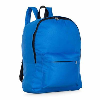 P&J Brindes - Mochila de nylon, possui um grande compartimento superior e bolso frontal. Alça superior de nylon e alças ajustáveis para as costas.  Medidas aproxima...
