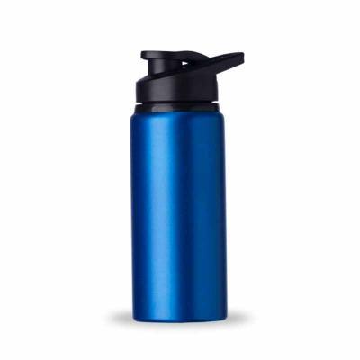 P&J Brindes - Squeeze alumínio de 600ml com pintura fosca. Squeeze com tampa plástica rosqueável, alça e tampa protetora para o bocal.  Altura :  21,1 cm  Largura :...
