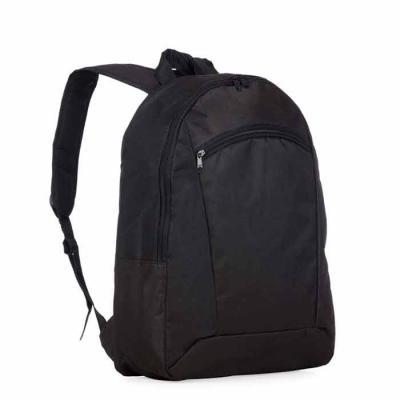 P&J Brindes - Mochila 100% nylon com compartimento para notebook. Possui um compartimento superior com bolso interno para notebook e compartimento/bolso frontal. Al...