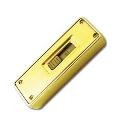 P&J Brindes - Pen Drive formato barra de ouro personalizado