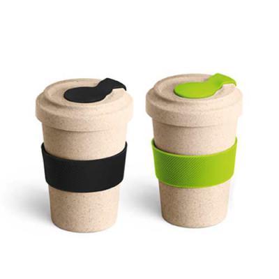 Sacola Ecológica.COM - Copo personalizado para viagem fibra de bambu
