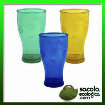 Sacola Ecológica.COM - Copo de Acrílico 550ml