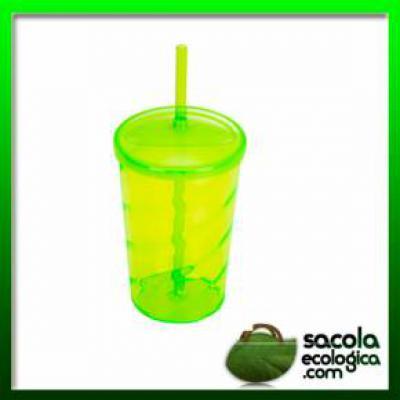 Sacola Ecológica.COM - Copo de Acrílico 720ml