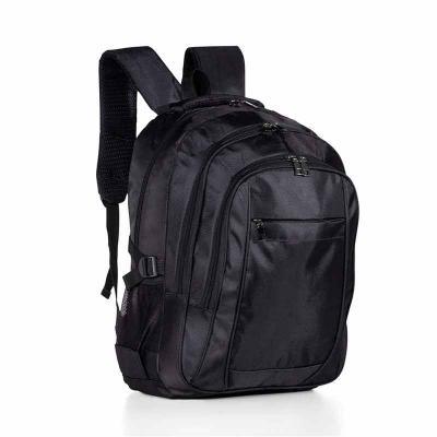 Teck Prints - Mochila de nylon com compartimento para notebook. Compartimento grande com bolso interno para notebook 15.6 polegadas, dois compartimentos medianos, c...