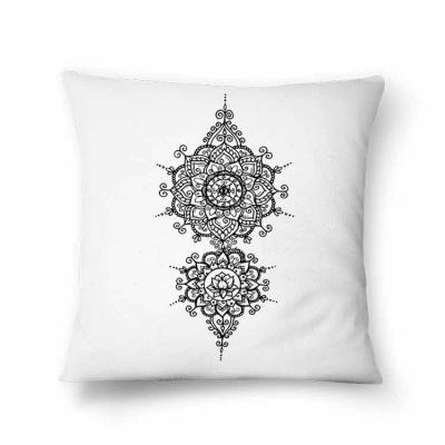Teck Prints - Almofada preto e branco