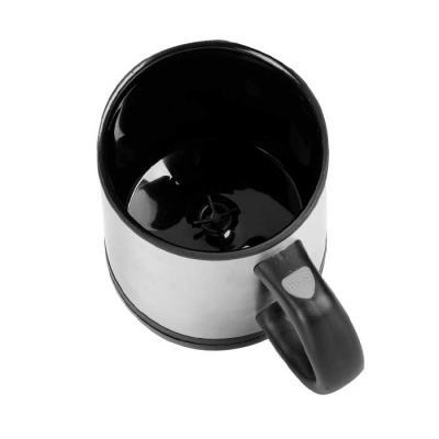 Italy Brindes - Caneca mixer 400ml em inox, possui detalhes preto em plástico resistente (inclusive a parte interna).Tampa rosqueável com uma abertura para poder inge...