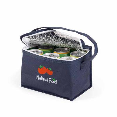 Italy Brindes - Bolsa térmica. Non-woven: 80 g/m². Capacidade até 3 litros. Food grade. 200 x 140 x 130 mm