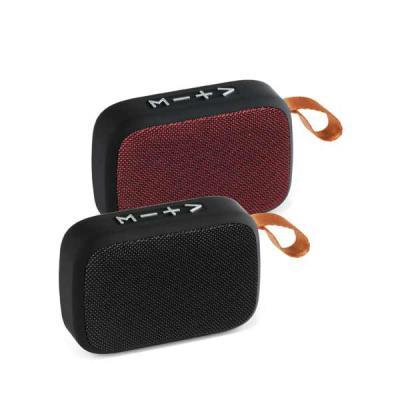 Italy Brindes - Caixa de som Personalizada com microfone, com transmissão por bluetooth, som stereo, leitor de cartões, função atender chamadas, controle de volume, c...