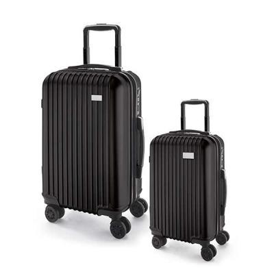 Italy Brindes - Conjunto de 2 malas de viagem executivo personalizada