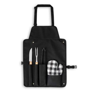 Italy Brindes - Kit churrasco composto por 4 utensílios