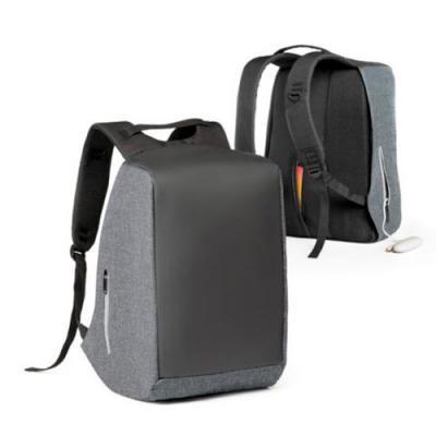 Italy Brindes - Mochila para notebook personalizado. 900D de alta densidade e tarpaulin. Sistema anti-roubo: compartimento principal com zíper oculto e parte posterio...